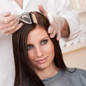 Окрашивание корней волос WELLA