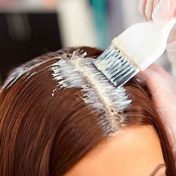Окрашивание корней волос KYDRA