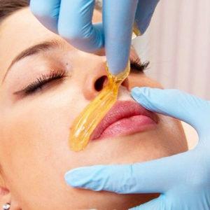 Эпиляция верхней губы шугаринг