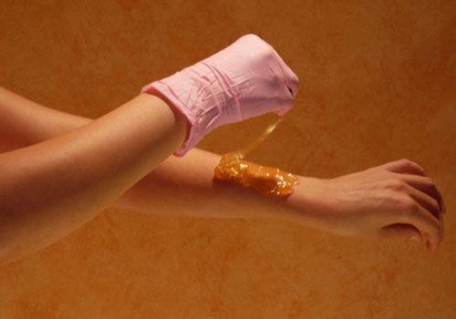 Эпиляция рук до локтя шугаринг
