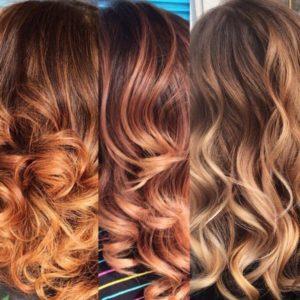 Сложное окрашивание волос от KYDRA